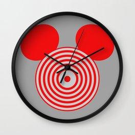 Grid Mouse 1.0 (Sark Variant) Wall Clock