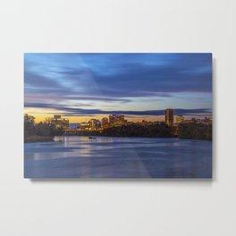 Richmond City Skyline Metal Print