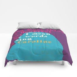 Robert Wyatt Oh Caroline Comforters