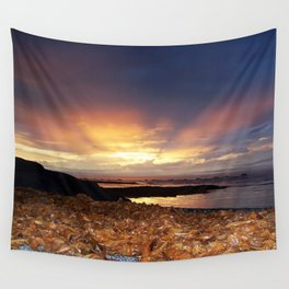 Seaweed Sunset Wall Tapestry