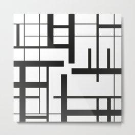 Lines #3 Metal Print