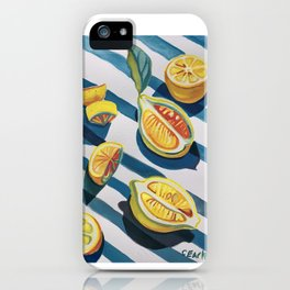 """When life gives you lemons"" iPhone Case"