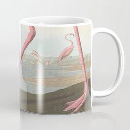 Vintage Flamingo Illustration (1838) Coffee Mug