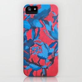 Snow Roses iPhone Case