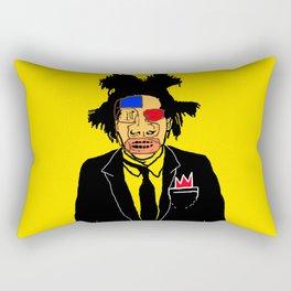 Jean Michelle Basquiat Rectangular Pillow