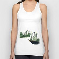 ships Tank Tops featuring Ships by kiwiroom