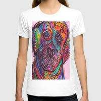 lab T-shirts featuring Lovable Lab by EloiseArt