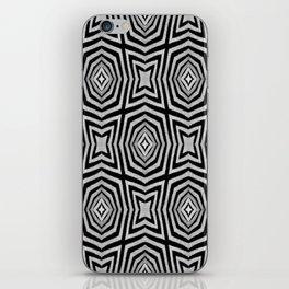 Zebra Fur Pattern iPhone Skin
