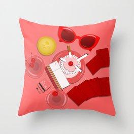Ladies Night Throw Pillow