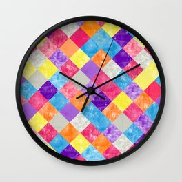 Lovely Geometric Background V Wall Clock