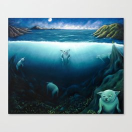 Not a Wyland Canvas Print