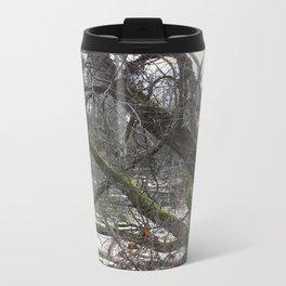 Winter trees Metal Travel Mug