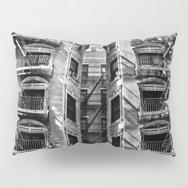 New York fire escapes Pillow Sham