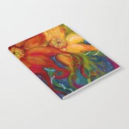 Three Sunflowers Notebook