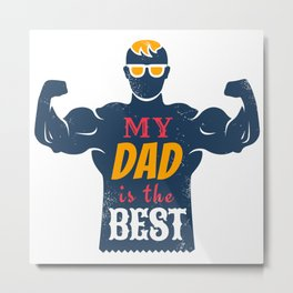 Father day Metal Print
