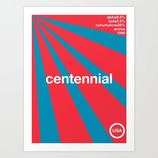 centennial//single hop Art Print