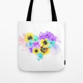 Floral Overdose Tote Bag