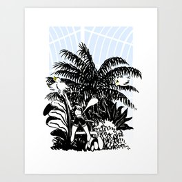 Jasmin Tea Art Print