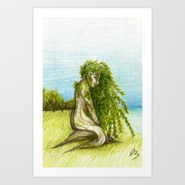 Willow 2018 Art Print