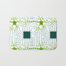 Neural Network 1 Bath Mat