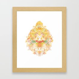 the big Om Framed Art Print