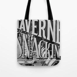 Paris Taverne Tote Bag