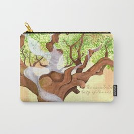The concentrated Lady of the Oak Carry-All Pouch