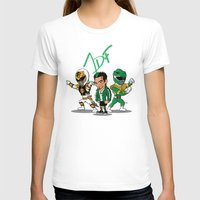 power rangers T-shirts featuring Power Rangers Legacy: Jason David Frank by HWM Designs