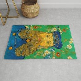Vincent van Gogh - Portrait of Postman Rug