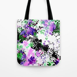 Painty Flowers Tote Bag