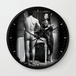 SHAVING Wall Clock
