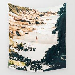Solo Traveler || #illustration #travel Wall Tapestry