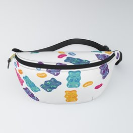 Sweet Jelly Beans & Gummy Bears Fanny Pack
