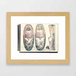 Sailor's Shoes Framed Art Print