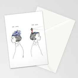 The Chaos and The Calm Stationery Cards