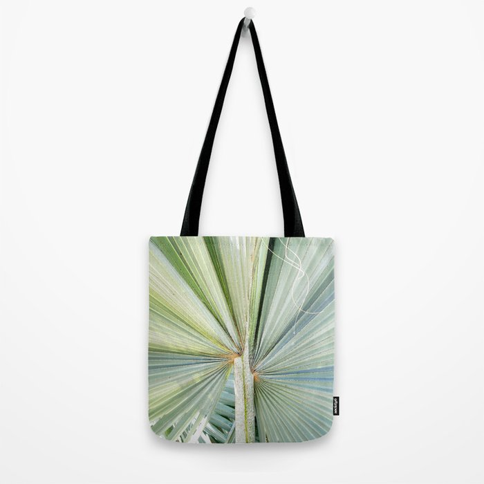 Fanned Palms Tote Bag
