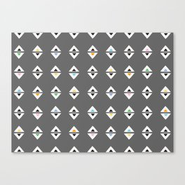 ALWAYS TRIANGLES Canvas Print