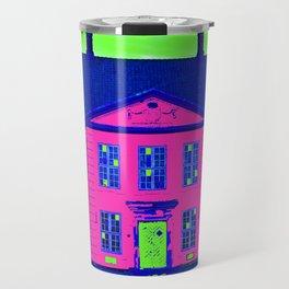Roskilde Denmark popart pink Travel Mug