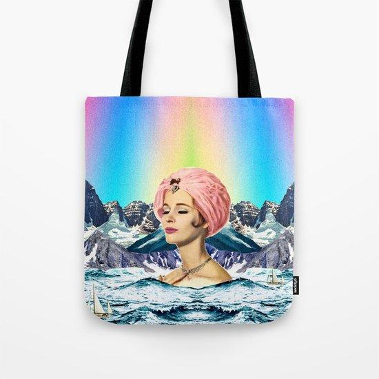 calm bath  Tote Bag