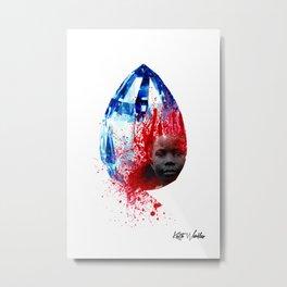 """Blood Diamond"" by Keith Moses Wardlaw A.K.A. kmoses215 Metal Print"