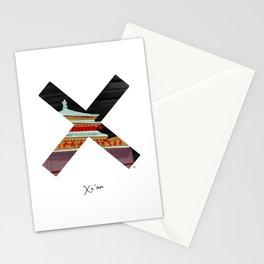 Bucket list destination - Xian Stationery Cards