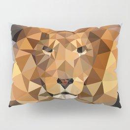 Lion Techy Art Pillow Sham