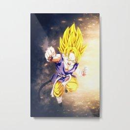 Gohan Dragon Ball Super Metal Print