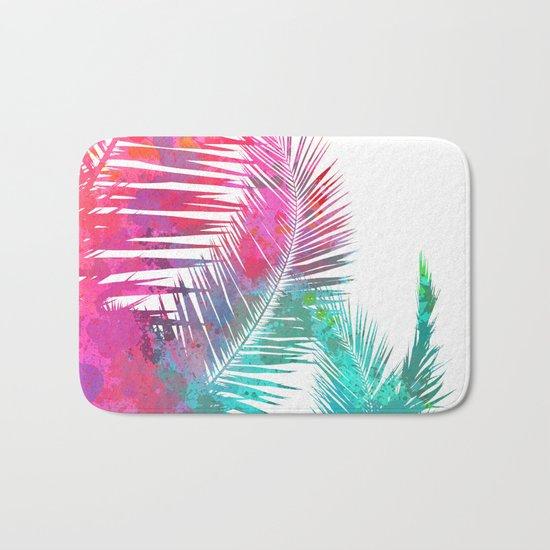 Palms Explosion Bath Mat