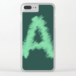 Wavey A Clear iPhone Case