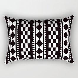 Geometric Pattern #177 (edie sedgwick) Rectangular Pillow