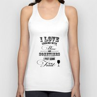 wine Tank Tops featuring Wine by Horváth László