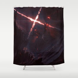 Iron Twins Shower Curtain