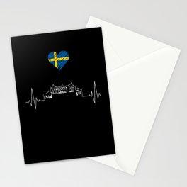 Sweden Love Stationery Cards
