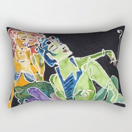 Bad Bitches Rectangular Pillow
